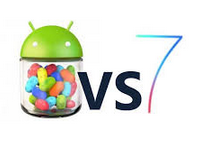 iOS 7 vs. Android 4.2 Jelly Bean | UI design, Multitasking, Lock Screen