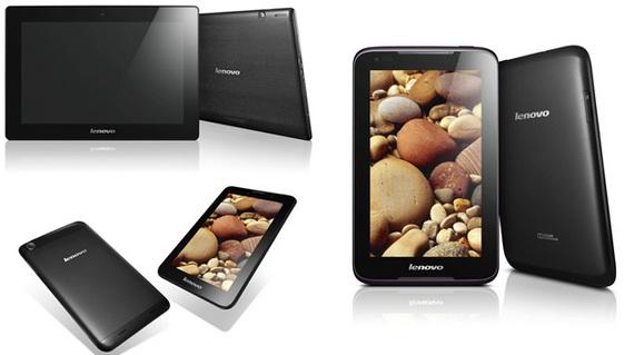 Lenovo A1000, A3000 and S6000