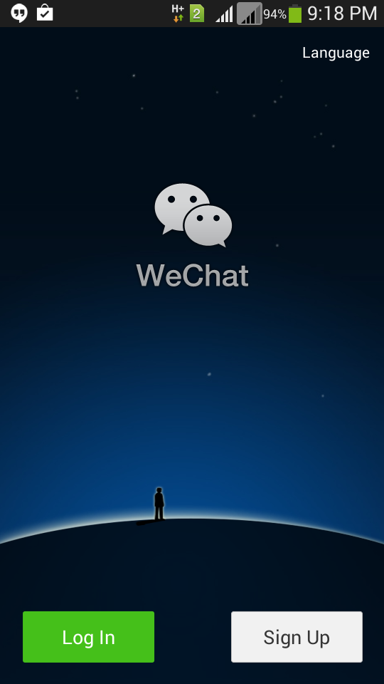 WeChat login problem