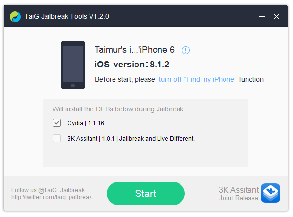 How to Jailbreak iOS 8.1.2 (Jailbreak iPhone 6, 6 Plus, 5S, 5C, 5, 4S) with TaiG