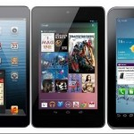 Tablets Comparison: Google Nexus 7 vs Samsung Galaxy Tab 2 vs Apple iPad mini