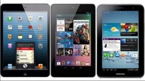 Tablets Comparison: Google Nexus 7 vs Samsung Galaxy Tab 2 vs Apple iPad mini