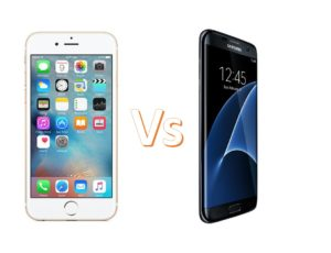 Apple iPhone 6S Vs Samsung Galaxy S7