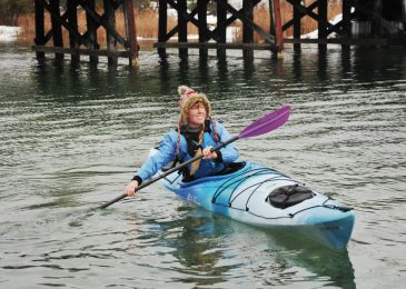 Give the gift of best inflatable fishing kayak safety for Christmas