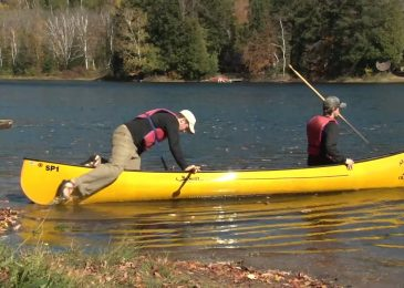 Make your canoe easier to rescue