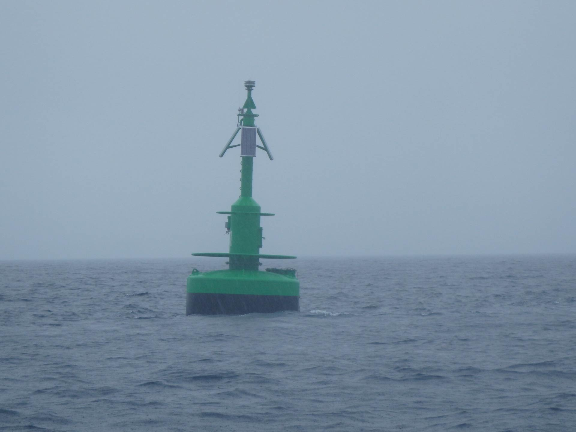 Navigation Beacon in Auckland Harbor Over reliance on best marine GPS too may risk safety