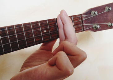 Guitar chords to ukulele chords: Barre Chords