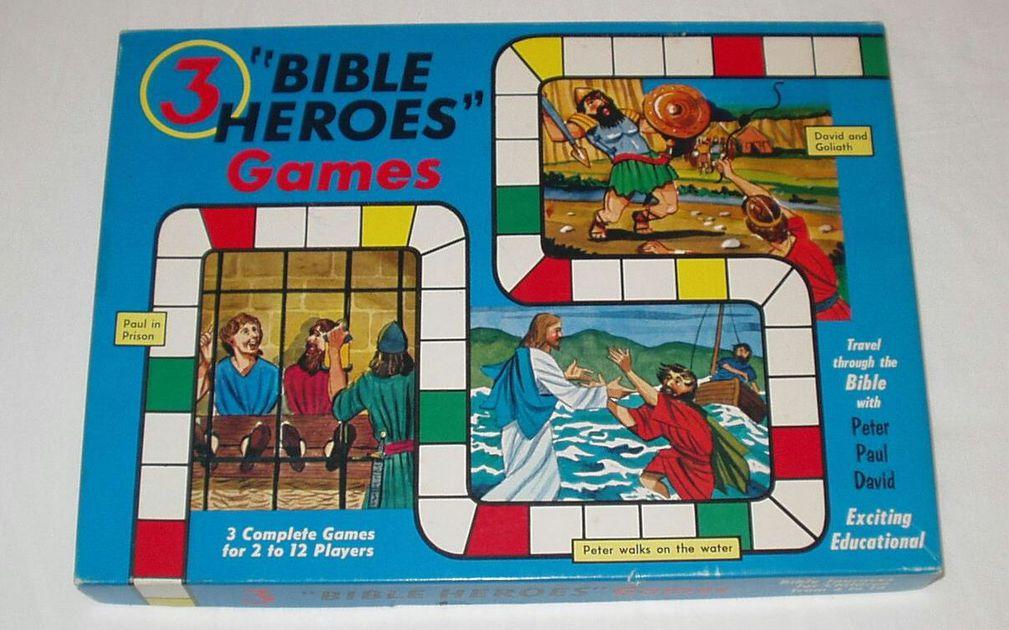 Bible Baffle Board Game