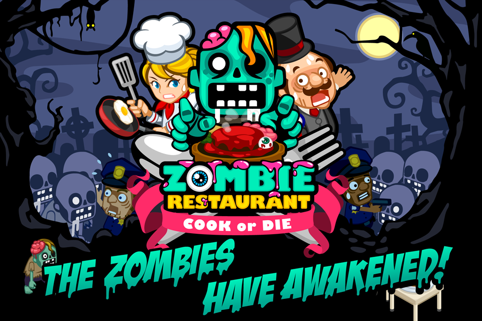 Zombie Pizza: a Puzzle Game for the iPhone, iPad, and iPod Touch