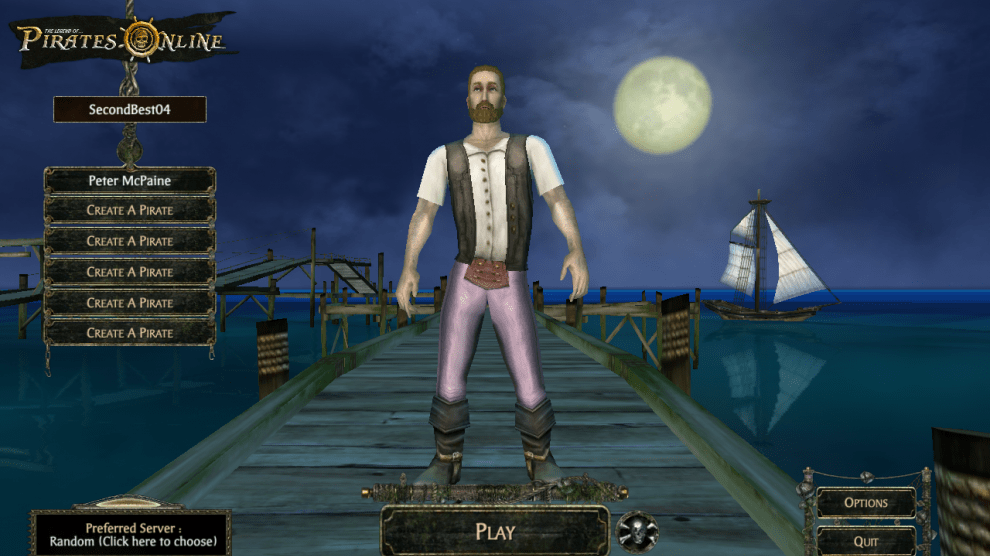 Pirates of the Caribbean Online - Disney's MMORPG