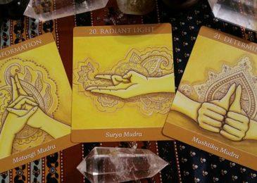 The third chakra mudra or solar plexus