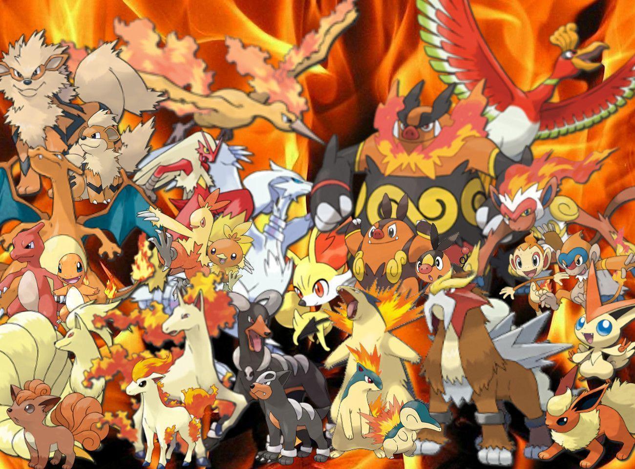Pokémon Fire Type strategy, guide, analysis